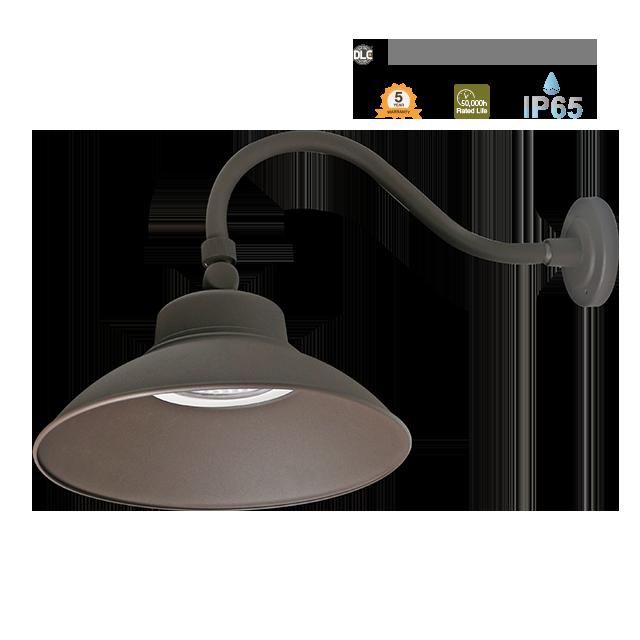 LED安全黄昏至黎明-鹅颈-IP65